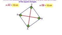 4-8. The Diagonals of a Square