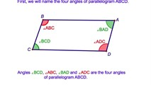4-1. The Opposite Angles of a Parallelogram