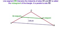 4-25. The Midsegment of a Triangle