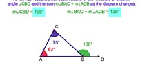 3-10. The Exterior Angle of a Triangle