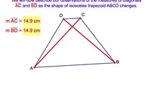 4-13. The Diagonals of an Isosceles Trapezoid