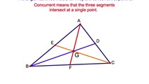 4-27. The Segments of the Three Medians Drawn in a Triangle