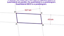 4-16. If One Pair of Opposite Sides of a Quadrilateral is Both Congruent are Parallel