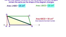 5-6. The Derivation of the Area of a Triangle