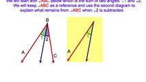 2-12. Using The Reflexive and Subtraction Postulates for Angles to Prove to Congruent Triangles