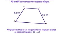 4-12. The Properties of an Isosceles Trapezoid