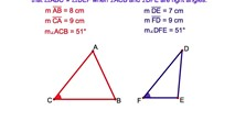 3-9. Congruent Triangles. Hypotenuse-Leg