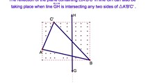 10-5. A Reflection in the x-axis in Coordinate Geometry