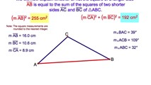 7-15. The Converse of a Pythagorean Theorem