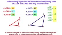 7-6. Similar Triangles- A.A. ≅ A.A.