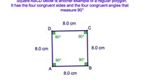 3-21. The Properties of a Regular Polygon