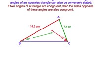 3-8. If Two Angles of a Triangle are Congruent (The Converse of the Base Angles Theorem)