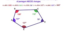 3-15. The Sum of the Interior Angles of a Polygon