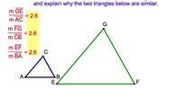 7-11. The Ratio of a Pair of Corresponding Altitudes in Two Similar Triangles