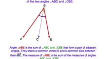 2-11. Using The Reflexive and Addition Postulates for Angles to Prove Two Congruent Triangles