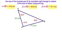 7-21. The 45 – 45 – 90 Degree Right Triangle