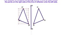 10-6. A Reflection in the y-axis in Coordinate Geometry