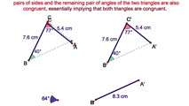 3-7. Congruent Triangles - A.A.S.