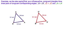 2-5. Using The Reflexive Postulate for Segments to Prove Two Congruent Triangles