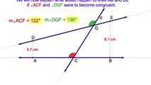 3-26. If Two Lines are Cut by a Transversal and a Pair of Corresponding Angles is Congruent